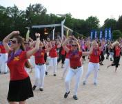 Kviečia linijinių šokių maratonas